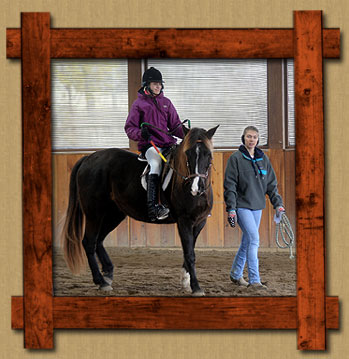 Take the Reins serves children 4-18 years of age with documented disabilities.